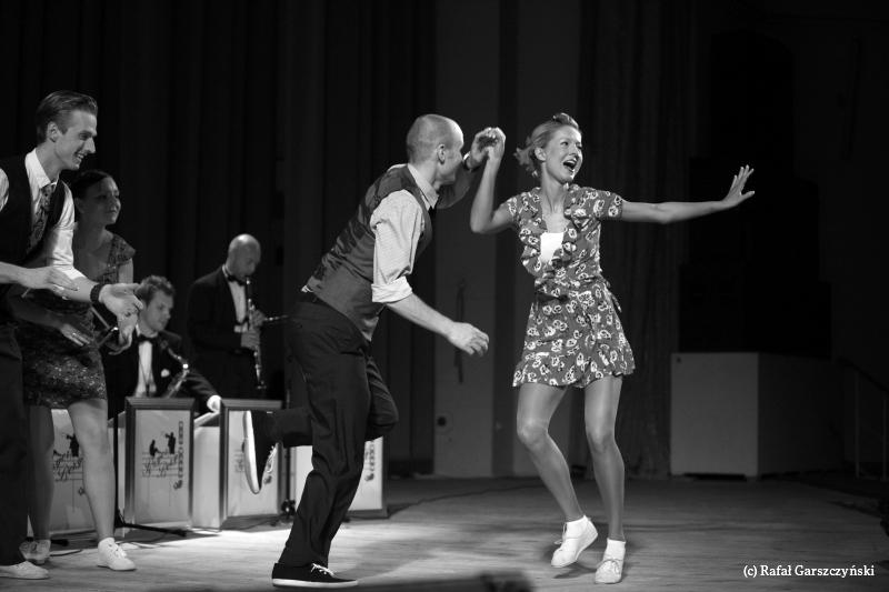 Swing Alliance - pokaz Lindy Hop na Wasa Swing Festival